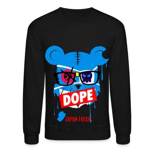 japan doped up - Crewneck Sweatshirt