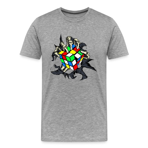 Skeleton Hand 's Cube - Men's Premium T-Shirt