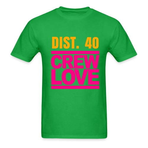 SOUTHERN CALI -D40 (PLEASE CHOOSE BRIGHT GREEN FOR YOUR T-SHIRT COLOR) - Men's T-Shirt
