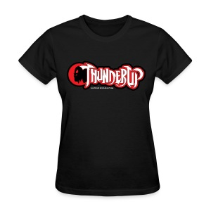 OKC Thunder Cats - Red and Black - Ladies - Women's T-Shirt