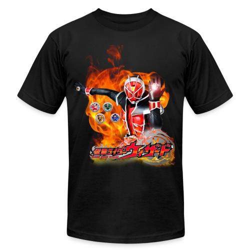 Kamen Rider Wizard TShirt - Men's Fine Jersey T-Shirt