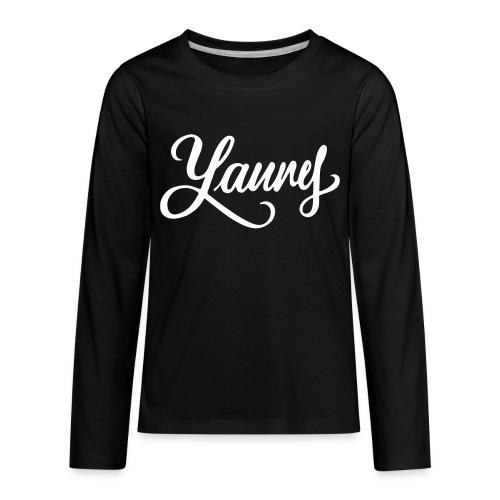 Laurel or Yanny (Kids) - Kids' Premium Long Sleeve T-Shirt