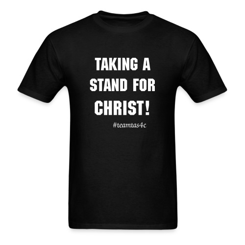 Taking a Stand Tee Black - Men's T-Shirt