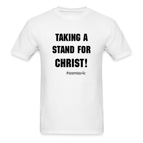 Taking a Stand Tee White - Men's T-Shirt