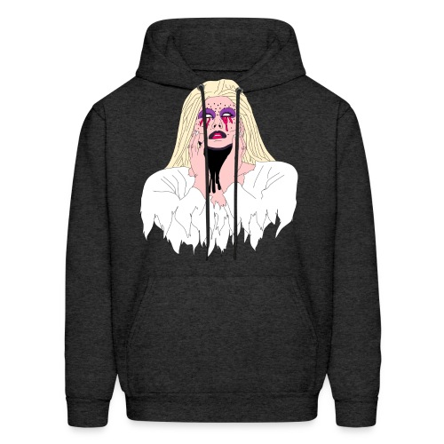 Bride Cartoon - Men's Hoodie