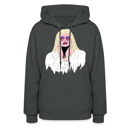 Bride Cartoon - Women's Hoodie