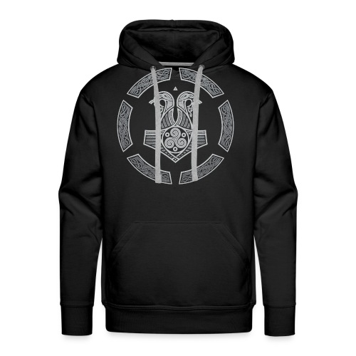 NORTHERN NAVY - Men's Premium Hoodie