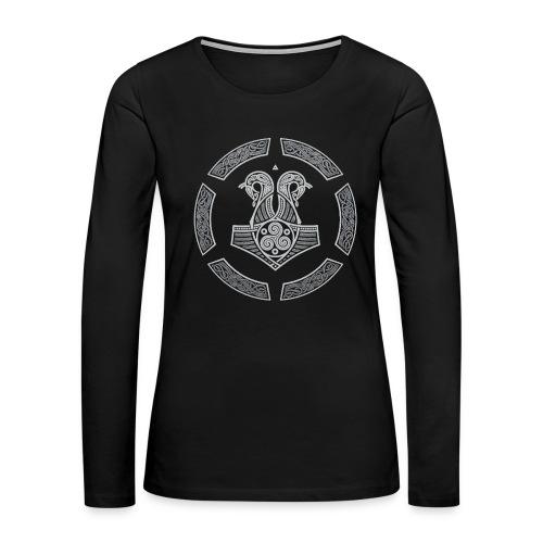 NORTHERN NAVY - Women's Premium Long Sleeve T-Shirt