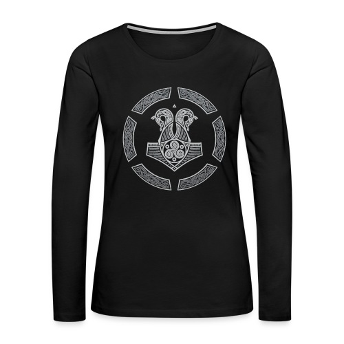 NORTHERN NAVY - Women's Premium Long Sleeve T-Shirt