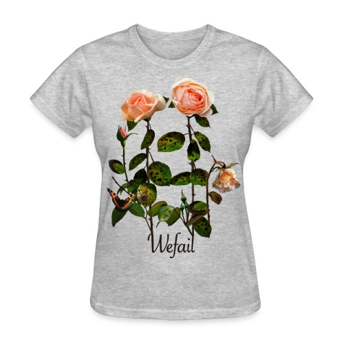 Flowers (Women's fit) - Women's T-Shirt