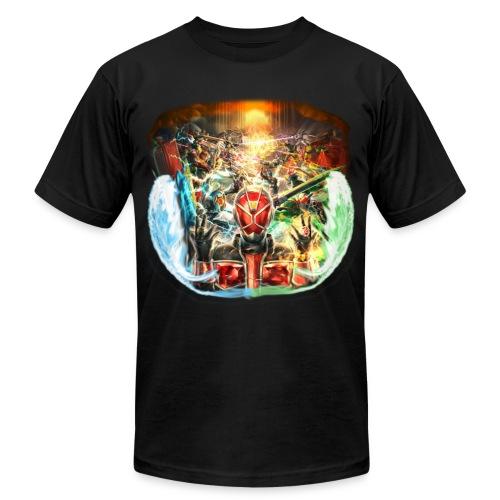 Kamen Rider Wizard  -Climax Heroes Tshirt - Men's Fine Jersey T-Shirt