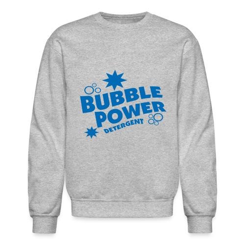 Bubble Power Blue - Crewneck Sweatshirt