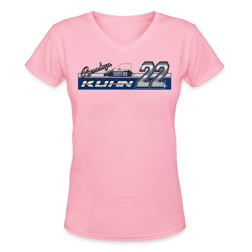 Bradyn22 - Blue Women's V - Women's V-Neck T-Shirt