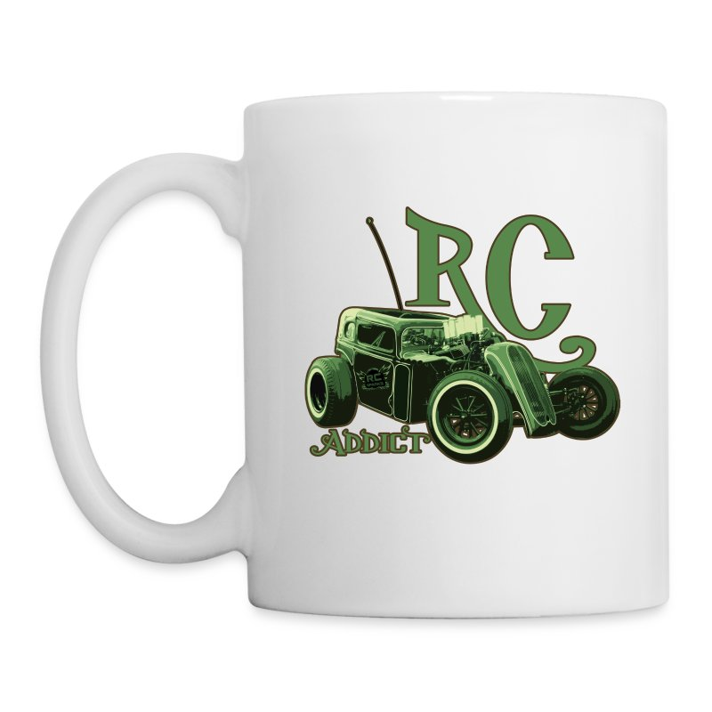 RC Addict Dragster Mug - Coffee/Tea Mug