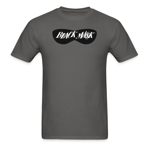 Black Mask 1950s logo A - Men's T-Shirt