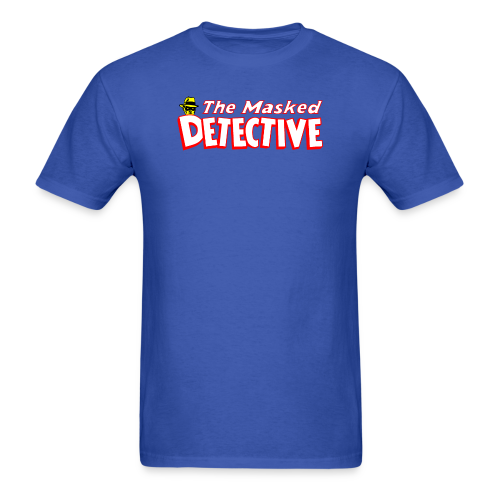 The Masked Detective - Men's T-Shirt