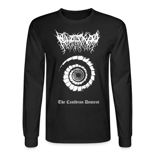 Wizzard - The Cauldron Descent  - Men's Long Sleeve T-Shirt