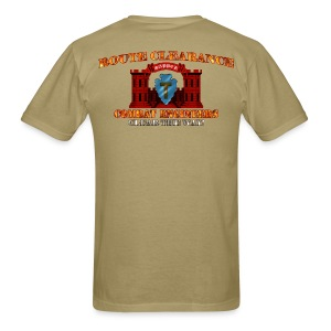 36th ID - RC Sapper Back Only - Men's T-Shirt