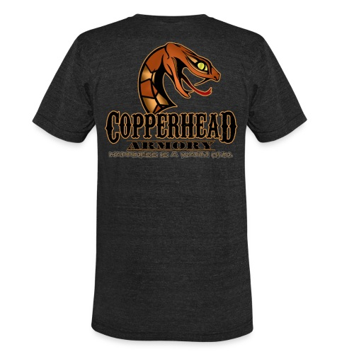 Vintage Copperhead Armory Happy Tee - Unisex Tri-Blend T-Shirt