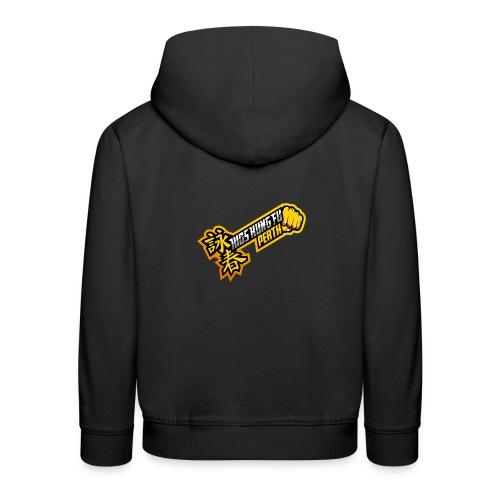 KIds Black Hoody - Kids' Premium Hoodie