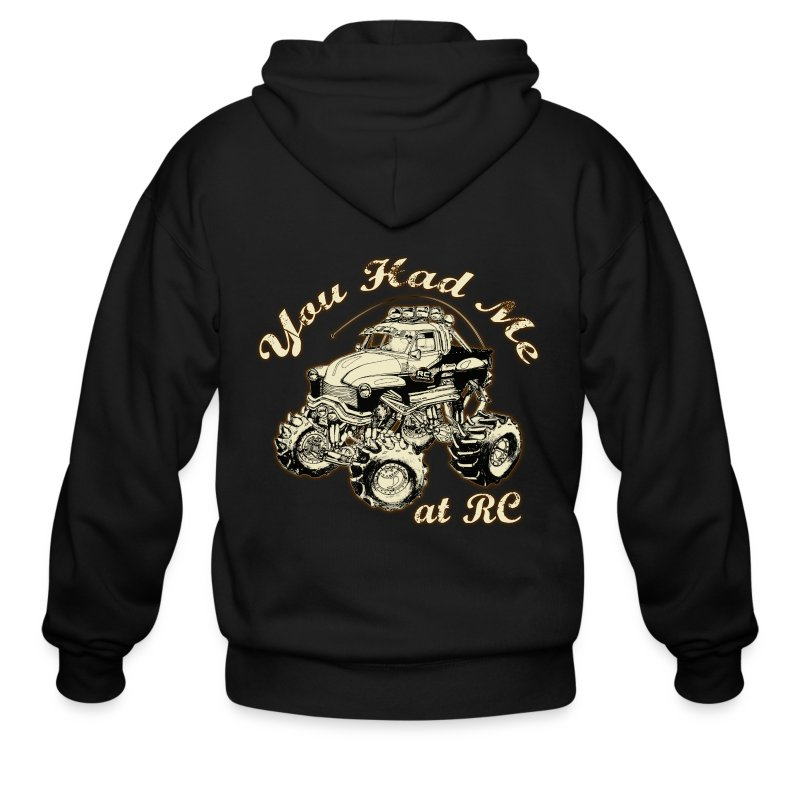 You Had Me at RC - Multi print - Men's Zip Hoodie