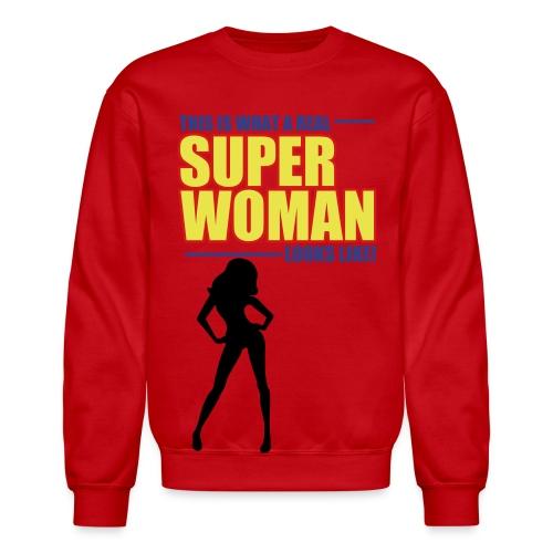 Super Woman (Joke) - Crewneck Sweatshirt
