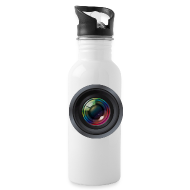 Mugs & Drinkware ~ Water Bottle ~ Camera Lens