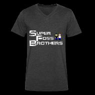 T-Shirts ~ Men's V-Neck T-Shirt by Canvas ~ V-neck New Design!