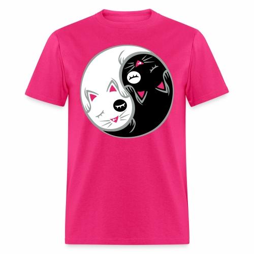 Yin yang cat - Men's T-Shirt