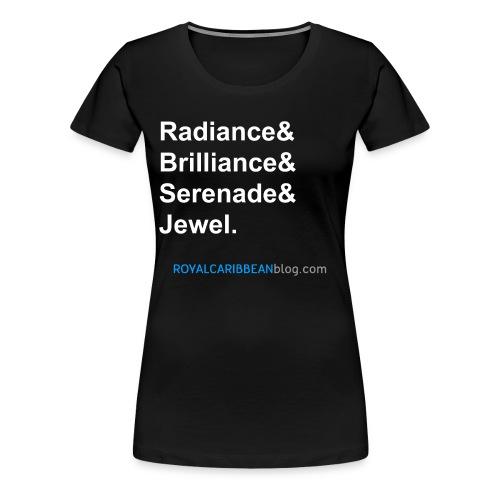 Radiance List Women's Shirt - Women's Premium T-Shirt