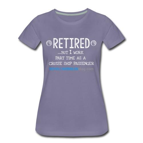 Women's Retired shirt - Women's Premium T-Shirt