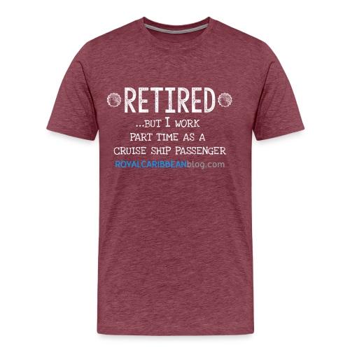 Men's Retired shirt - Men's Premium T-Shirt