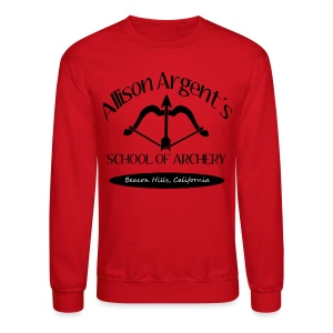 Allison Argent's School of Archery (Black Font) - Crew-neck - Crewneck Sweatshirt