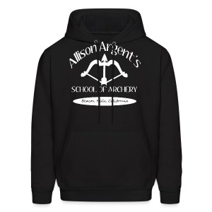 Allison Argent's School of Archery (White Font) - Men's Hoodie - Men's Hoodie