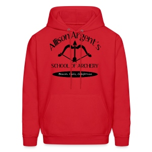 Allison Argent's School of Archery (Black Font) - Men's Hoodie - Men's Hoodie