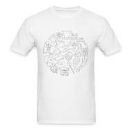 T-Shirts ~ Men's T-Shirt ~ For Lack of a Better Shirt
