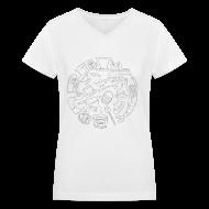 Women's T-Shirts ~ Women's V-Neck T-Shirt ~ For Lack of a Better Shirt