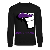 Long Sleeve Shirts ~ Crewneck Sweatshirt ~ Juice gang - crewneck