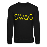 Long Sleeve Shirts ~ Crewneck Sweatshirt ~ $wag - Crew-neck