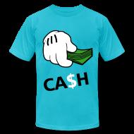 T-Shirts ~ Men's T-Shirt by American Apparel ~ Cash - tshirt