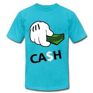 Cash - tshirt - Men's T-Shirt by American Apparel
