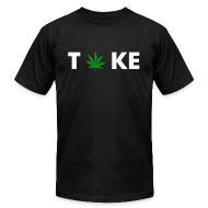 T-Shirts ~ Men's T-Shirt by American Apparel ~ TOKE TEAM 2 - TShirt
