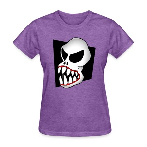 Monster Skull Women's T - Women's T-Shirt