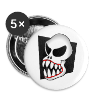 Buttons ~ Small Buttons ~ Monster Skull small buttons