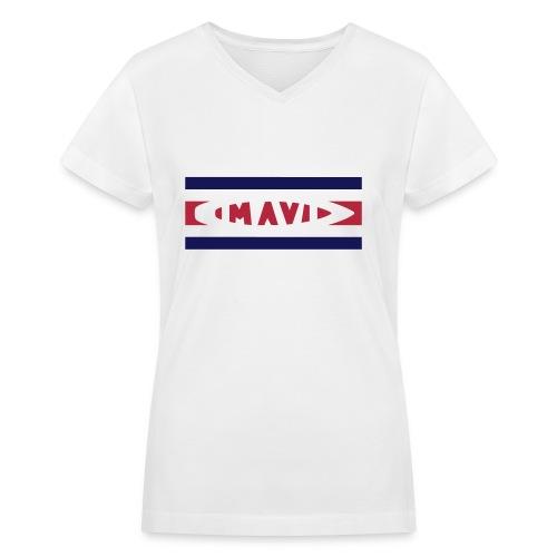 MAVI Uniform 2016 Woman - Women's V-Neck T-Shirt