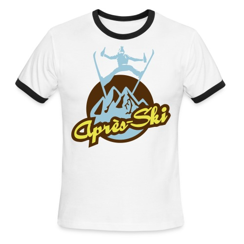 Apres Ski Shirt - Men's Ringer T-Shirt