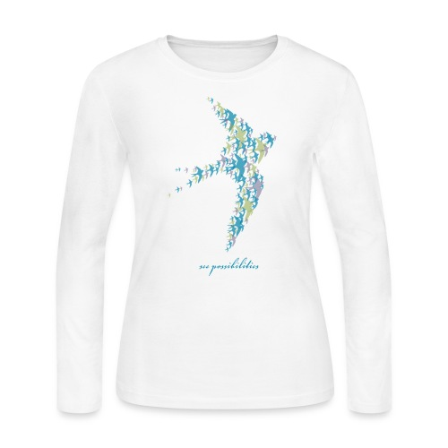 See Possibilities - Women's Long Sleeve Jersey T-Shirt