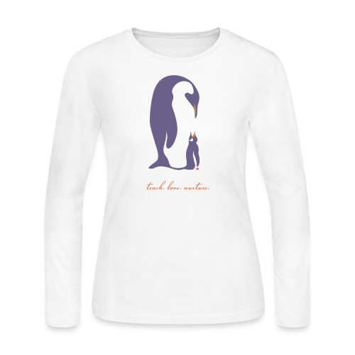 Teach, Love, Nurture - Women's Long Sleeve Jersey T-Shirt
