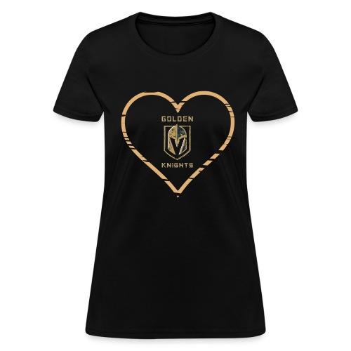 Love Golden Knights  - Women's T-Shirt
