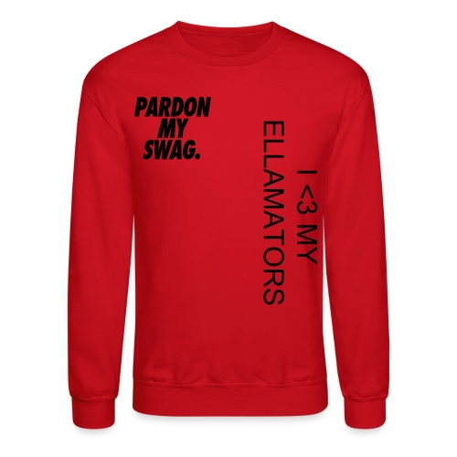 Long Sleeved Ellamator Shirts - Crewneck Sweatshirt